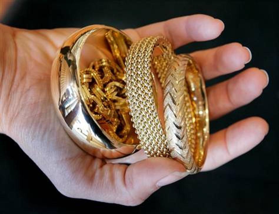 фото золотых изделий из ломбарда тарталетках