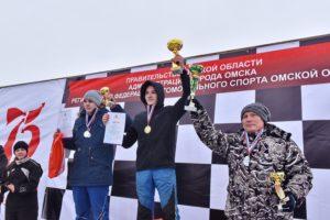На Омском ипподроме прошли трековые автогонки памяти генерала Дмитрия Карбышева