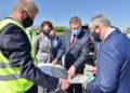 Бурков и Фадина проинспектировали строительство 3-й Островской