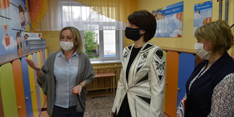 Оксана Фадина проверила детсады-новостройки