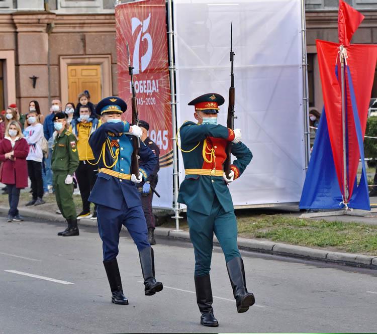 Репетиция парада Победы в Омске