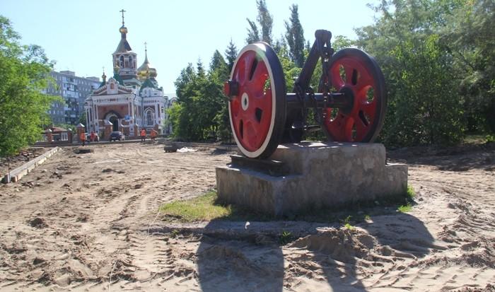 Мэр Омска проинспектировала объекты нацпроектов в Ленинском округе (ФОТО)