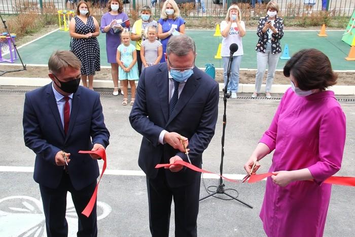 В Омске открыли новый детский сад на 140 мест