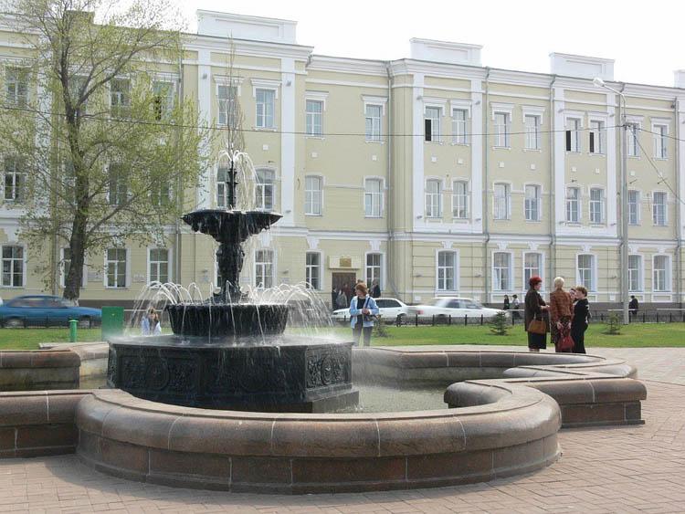 Учёба в старом Омске