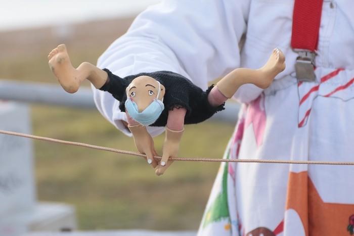 В Омске показали цирк эпохи коронавируса (ФОТО)