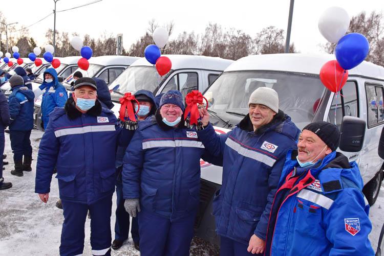 АО «Омскэлектро» провело масштабное обновление автопарка (ФОТО)
