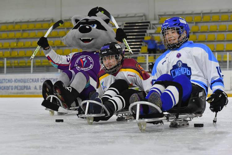 Секция следж-хоккея для детей