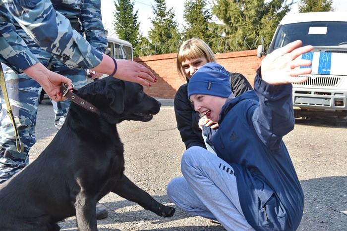 В полиции исполнили мечту юного омича (ФОТО)