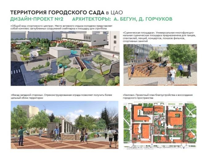 В Городском саду Омска может появиться детский городок или скейт-парк