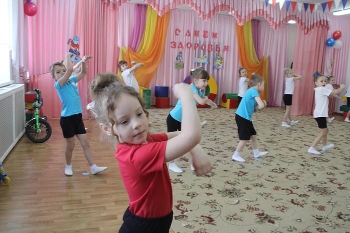 В детских садах Омска проводят дни здоровья (ФОТО)
