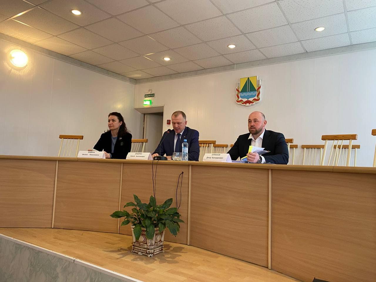 Оксана Фадина выступила на профсоюзном форуме в Называевском районе