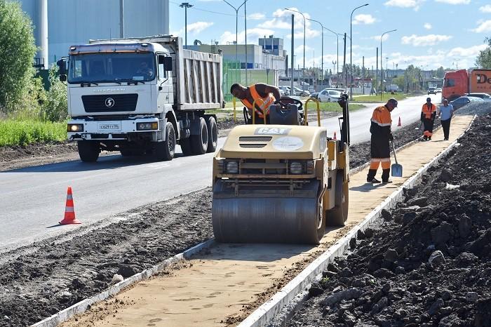 В Омске идут полным ходом работы по национальному проекту «Безопасные и качественные дороги»