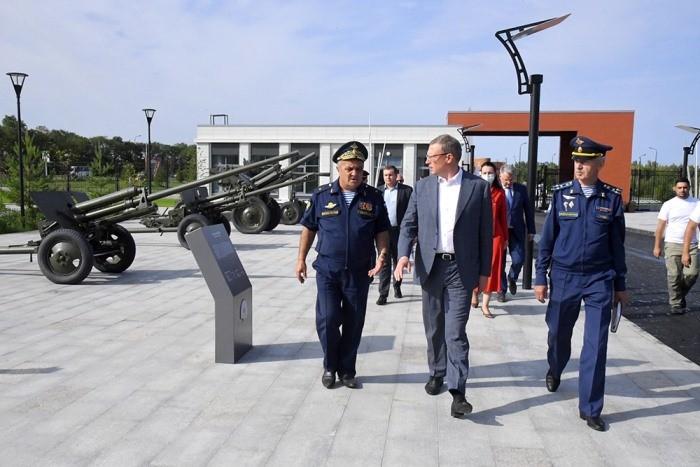Завершено строительство Омского кадетского военного корпуса (ФОТО)