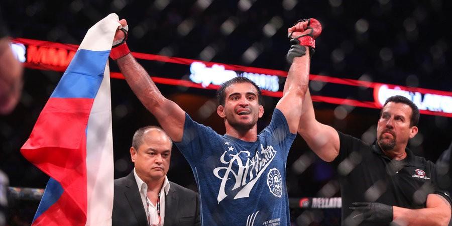 MMA News: Andrey Koreshkov confidently defeated Sabah Homasi at Bellator 264. Video