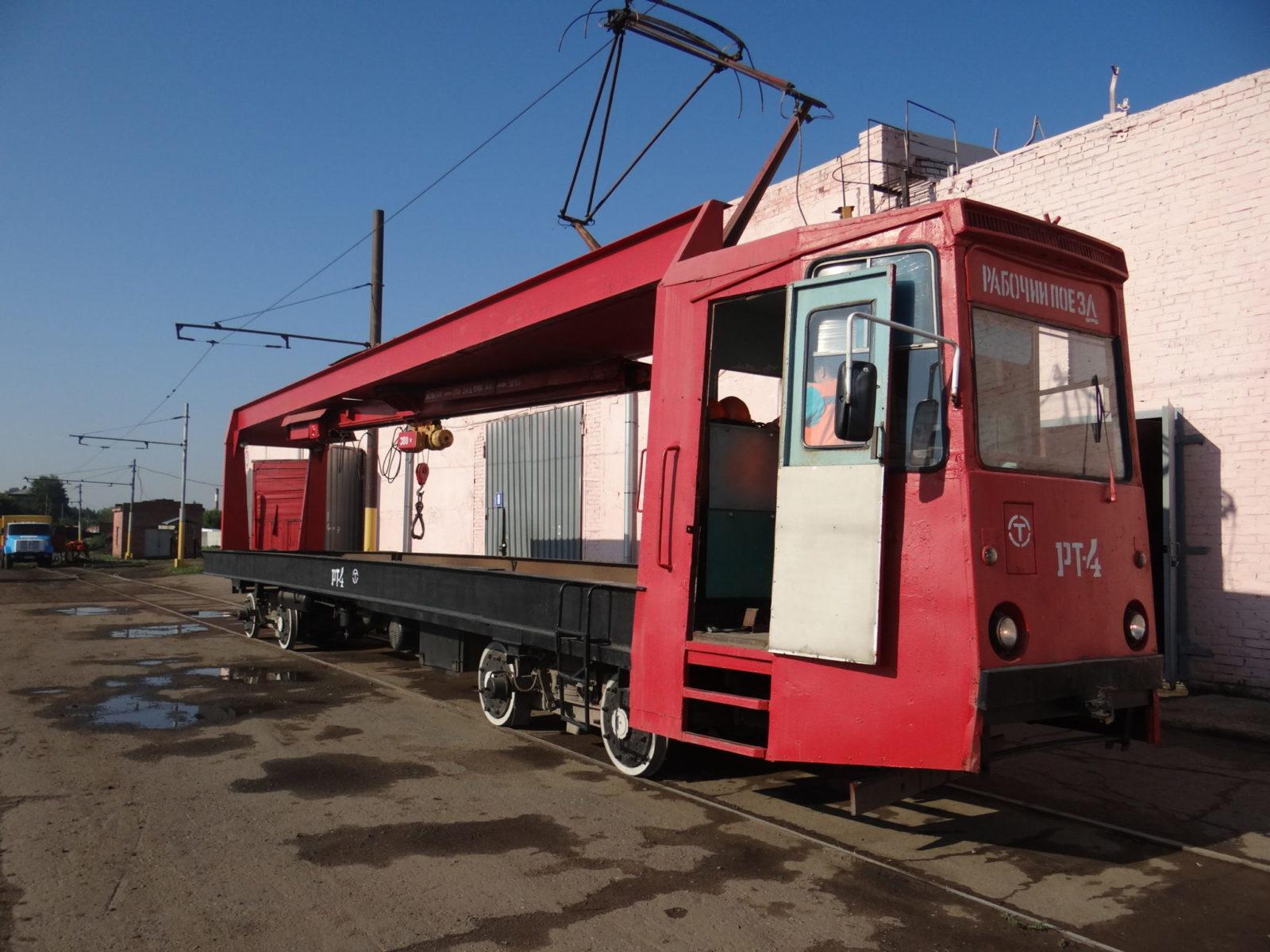 Как в Омске работают служебные трамваи?