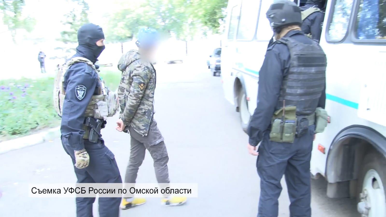 В Омске задержали членов радикальной террористической организации