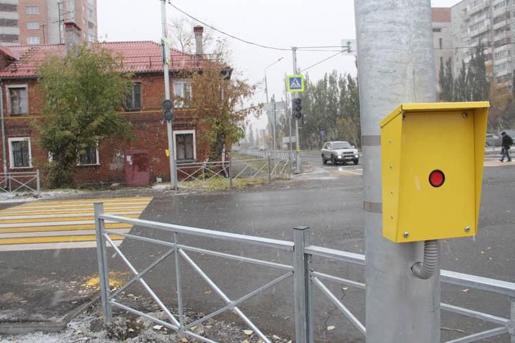 На омских перекрестках появляются новые светофорные объекты (ФОТО)
