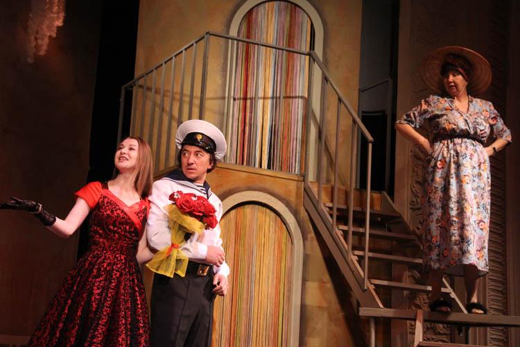 В театре «Студия Л. Ермолаевой» состоится премьера в день открытия театрального сезона (ФОТОРЕПОРТАЖ)